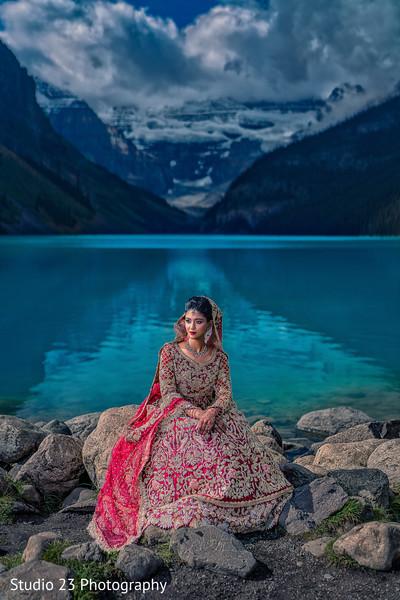 Outstanding portrait of dazzling Maharani