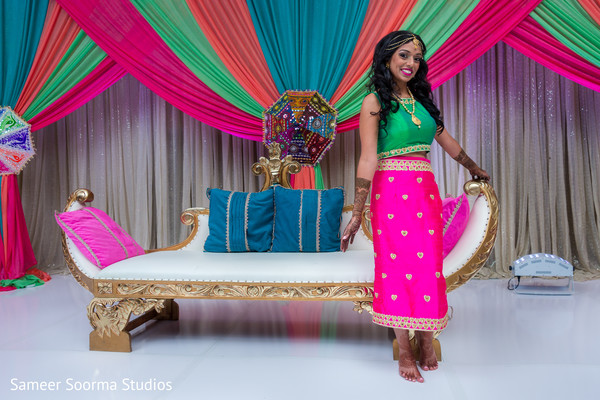 Beautiful Indian bride's style