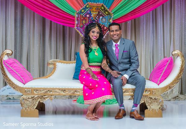 Ravishing Indian couple posing for pictures