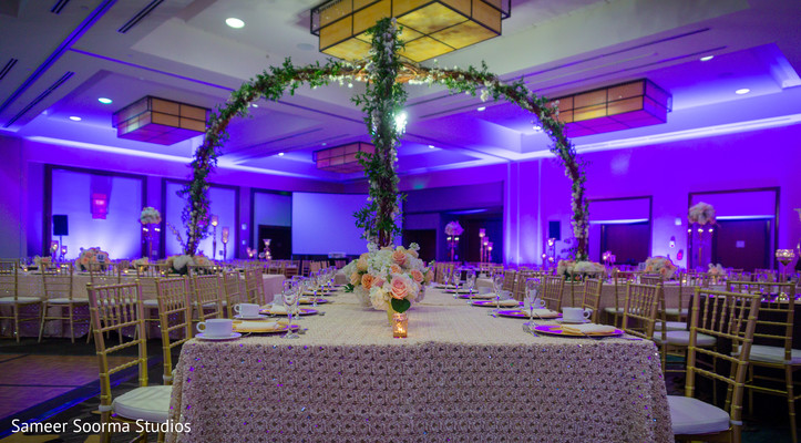 Details of the Indian wedding venue decor