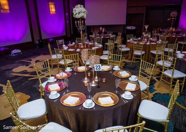 Indian wedding table decor ideas