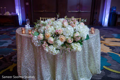 See this over the top floral arrangement design