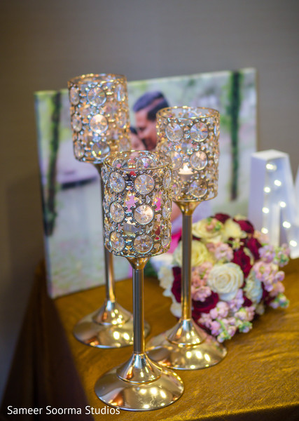 See this elegant cups to be used for the Indian wedding reception