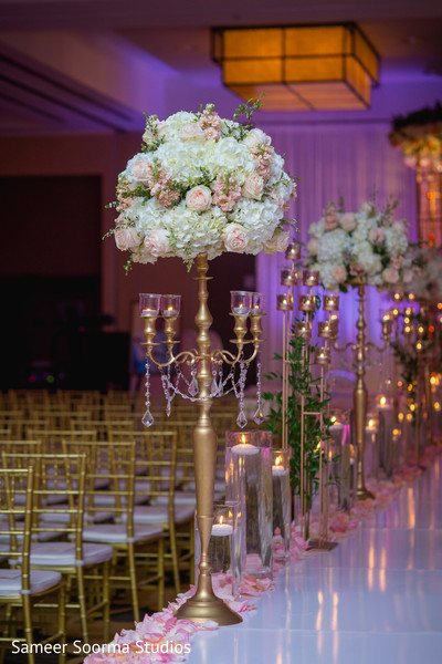Floral arrangement ideas for Indian weddings