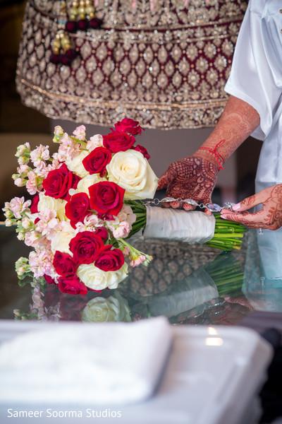 Floral arrangement for the Maharani