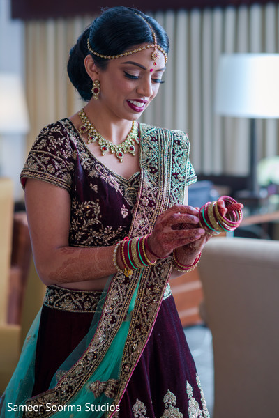 Maharani rocking her lengha
