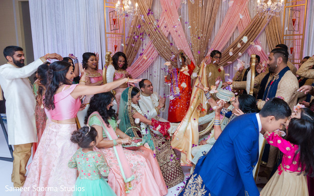 See this ravishing guests celebrating the union