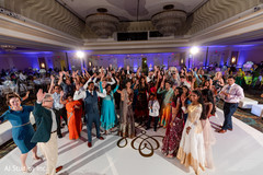 Marvelous Indian wedding reception party.