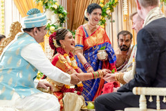 See this traditional Indian wedding ceremony.