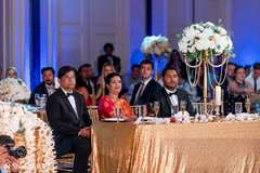 Indian parents at reception party capture.