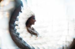 Marvelous portrait of Indian bride.