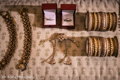 Stunning Indian bridal ceremony bracelets.