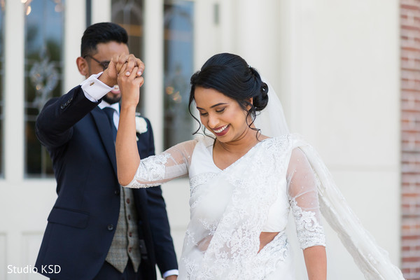 Maharani and Raja romantic moment