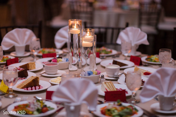 Details of the Indian wedding table