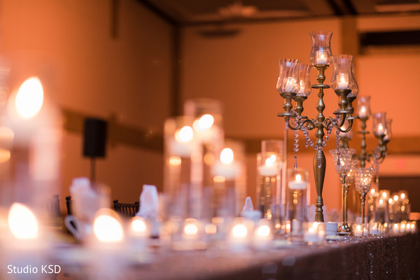 Table design ideas for the reception