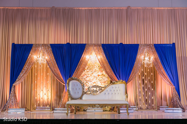 Ideas for the Indian wedding stage decoration