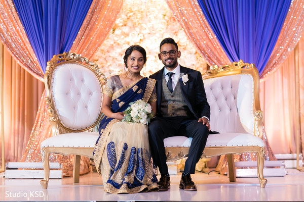 Raja and Maharani looking flawless