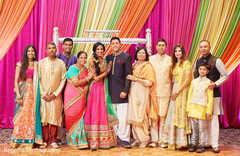 Lovely capture of Indian couple with family