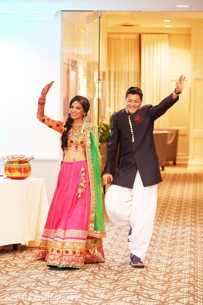 Maharani and Raja making their entrance