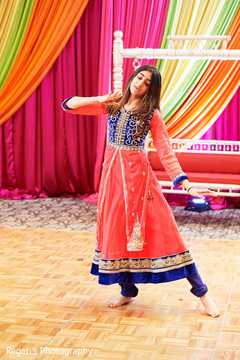 Special guest during the fun sangeet