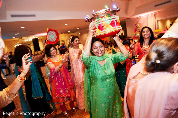 Fun happening during the pre wedding rituals