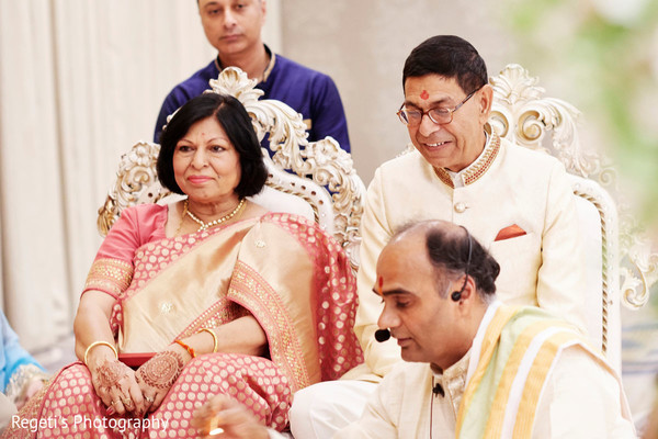 Special family guests during the ceremony