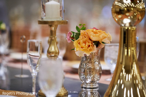 Ornaments of the Indian wedding reception