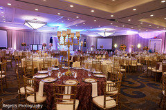 See the decor of the Indian wedding reception