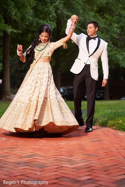 Beautiful Maharani dancing with Raja
