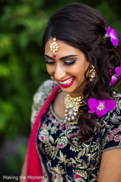 See this beautiful Maharani wearing the lengha
