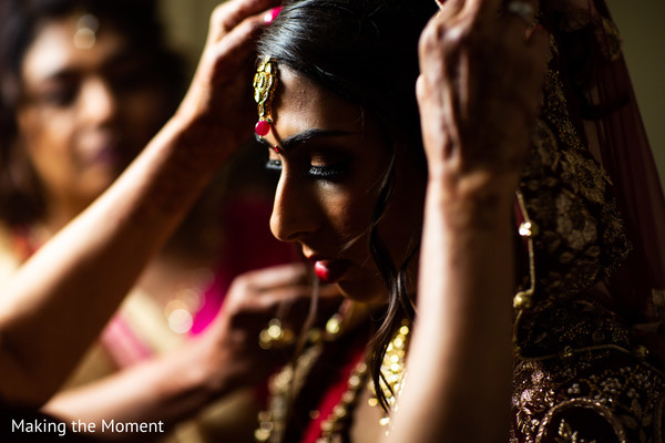 Maharani getting ready to say I do