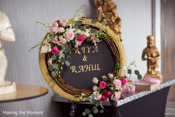 Beautiful ornament at the ceremony