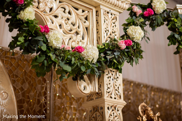 Decoration of the Indian wedding