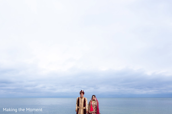 Talented capture of Indian couple outdoors