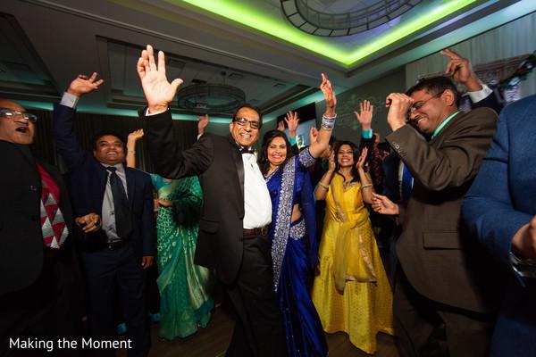Ravishing guests dancing during the reception