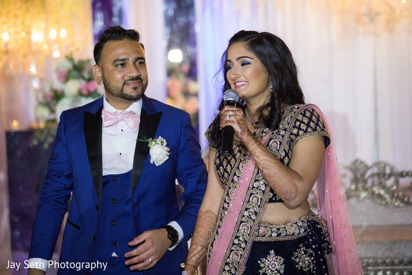 Incredible Indian couple's reception speech.
