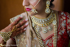 Magnificent Indian bridal Kundan choker set.