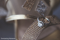 Stunning Maharani's engagement ring.