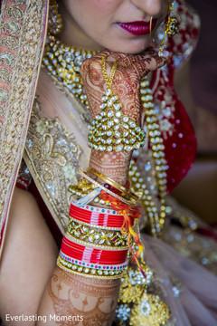 Incredible Indian bridal bracelets set.