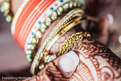 Closeup capture of Maharani's bangles.