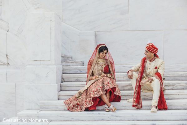 Sensational Indian lovebirds photo session.