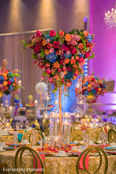 Marvelous floral centerpiece.