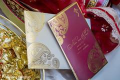 Elegant Indian wedding invitations prints.
