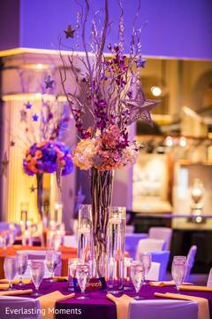 Marvelous Indian wedding table centerpiece decoration.