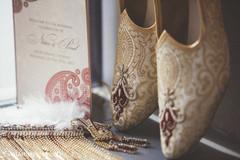 Elegant Indian groom's accessories capture.