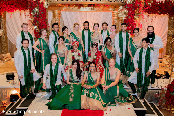 Marvelous Indian wedding ceremony photo shoot.