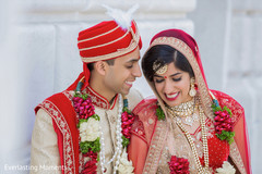 Enchanting Indian couple  outdoors photography.