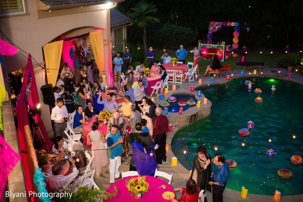 Ravishing guests having a great time