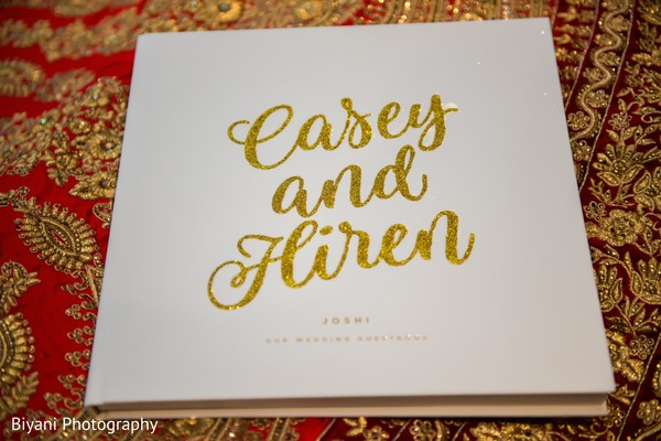 Gorgeous invitation for the Indian wedding