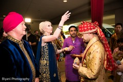 Special guest blessing the couple